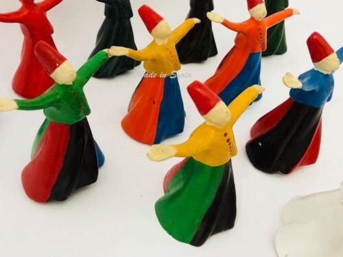 Gypsum Statue Mevlevi Whirling Dervishes رقصة التنورة دراويش المولوية