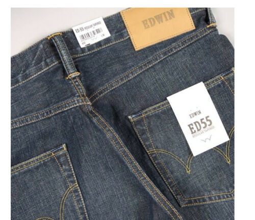 Val Regular lavage Ed55 granit moyenne Edwin Tapered charge L34 120 mi Homme W34 Jeans 6wHngq7n