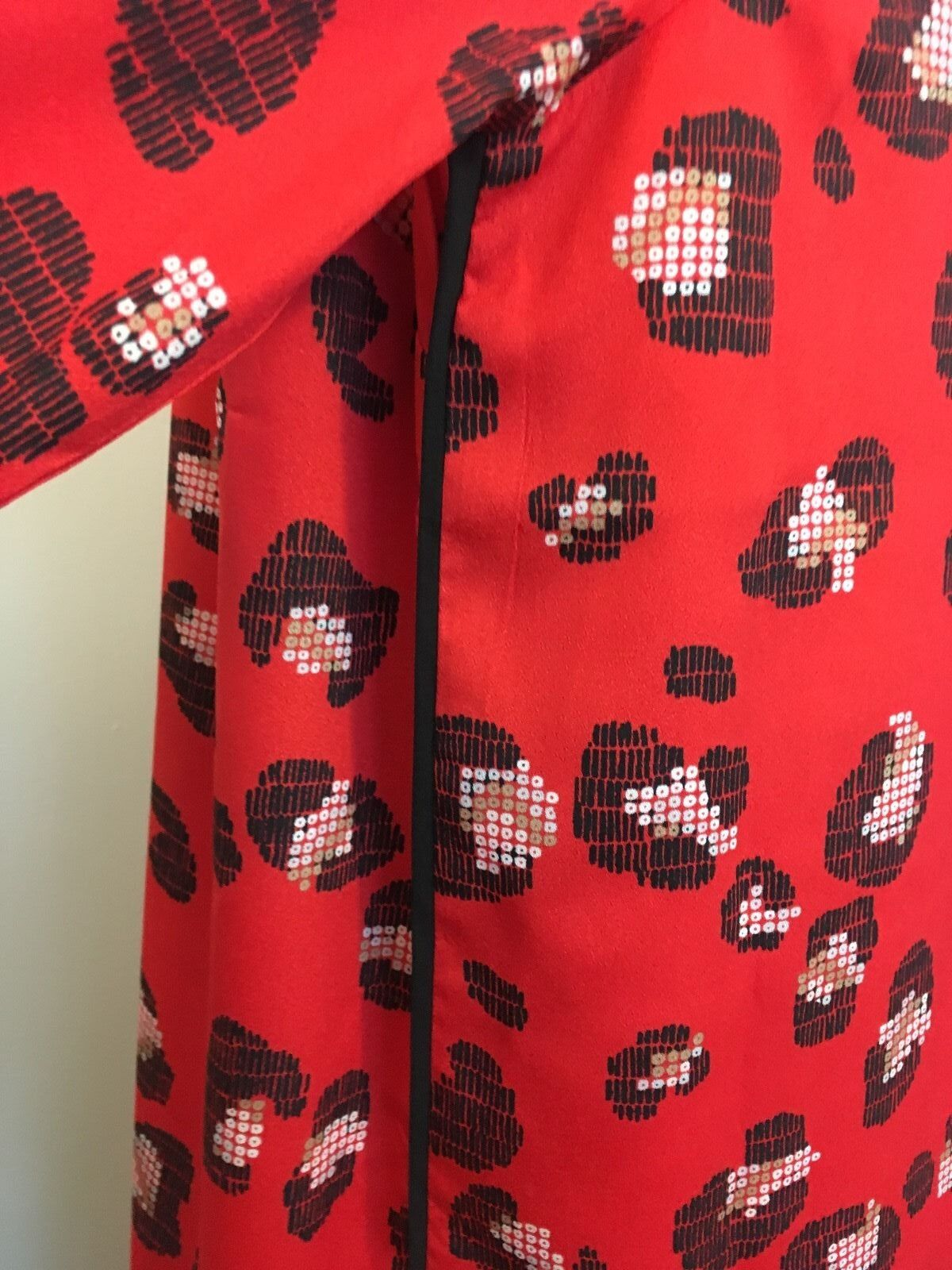 NWT The Limited Red Leopard Printed Printed Printed Shift Dress size Medium M 715341