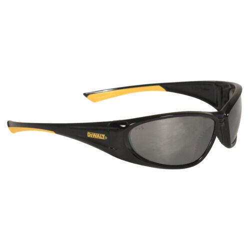 DeWalt Safety Glasses Gable Silver Mirror Lens Sunglasses