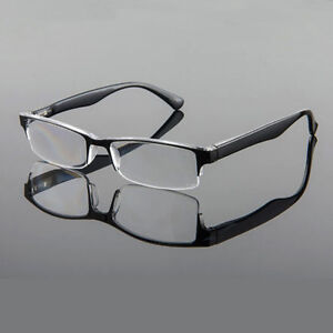 dd6bd78574 Fashion Agstum Spring Hinge Half Rim Reading Glasses Readers +1 +150 ...