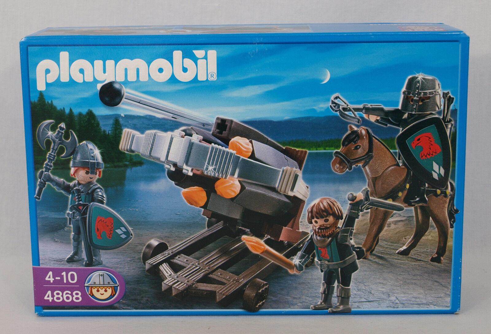 NEW NEW NEW PLAYMOBIL 4868 Knights Falcon Knight's Multi Firing Crossbow c6022f