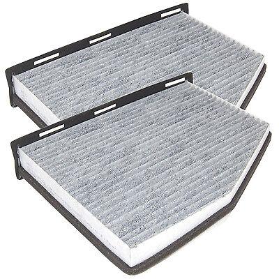2-Pack HQRP Cabin Air Filter for VW 1K0 819 644 1K0 819 653A 1K0 819 644B