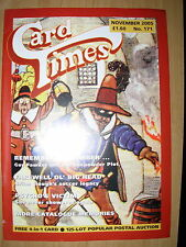 CARD TIMES MAGAZINE FORMERLY CIGARETTE CARD MONTHLY No 171 NOVEMBER 2004