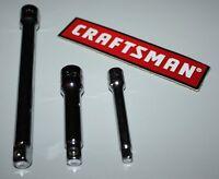 Craftsman 3 Piece Extension Bar Set