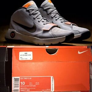 new product 471bd 71066 Image is loading Nike-KD-Trey-5-III-749377-002-Gray-