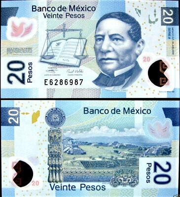 MEXICO  50  PESOS 2015  Serie Q  Prefix P  P.123A   POLYMER Uncirculated