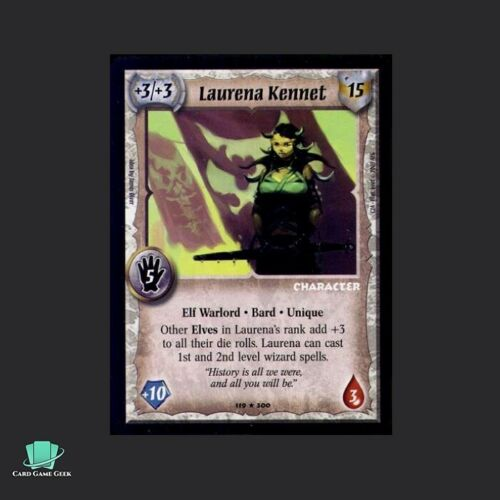 Laurena Kennet Warlord Saga of the Storm SotS CCG