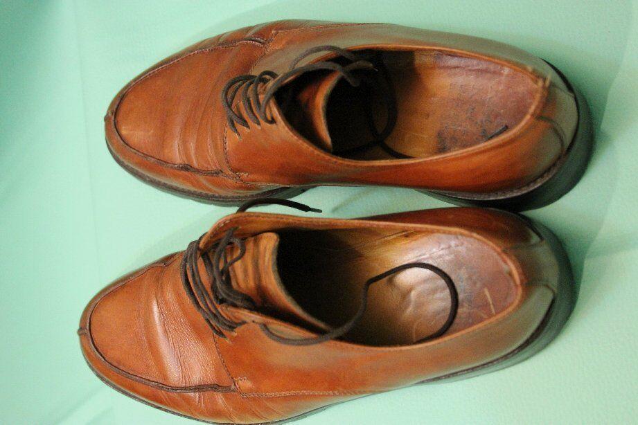 Bella scarpa da uomo di Kalman Marrone 40 Pelle Taglia 40 Marrone 6d4905