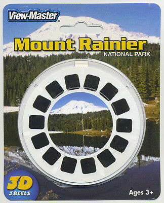 Purposeful Mount Rainier National Park Washington View-master Packung Versiegelt Luftfahrt & Zeppelin