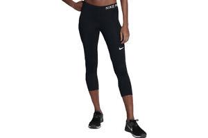 5f4f48b79cd0 Nike Ladies Fitness Pants Tracksuit Bottoms 3 4 Tight NP Pro Capri ...