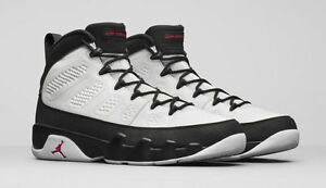 077cc03d569209 Nike MEN S Air JORDAN 9 Retro White True Red Black SPACE JAM SIZE 9 ...