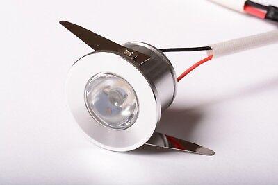 1w MICRO FARETTO LED INCASSO 30° BIANCO NEUTRO 1w 220v FISSO PUNTO LUCE D4D1