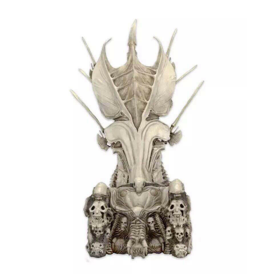 NECA Prossoator Prossoator Prossoator Clan Leader Alien Bone Throne Diorama Element 14'' Tall RESIN NEW cade96