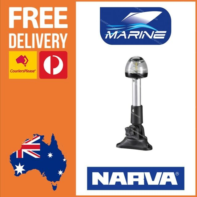 Narva LED Anchor Light - Fold Down Anchor Light - LED Navigation Light 99140BL