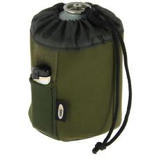 450g Butane Gas Canister Bottle Cover Neoprene + Lighter Pocket NGT Carp Fishing