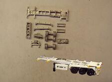 P&D Marsh N Gauge N Scale MV231 30ft Skeletal trailer (3) kit requires painting
