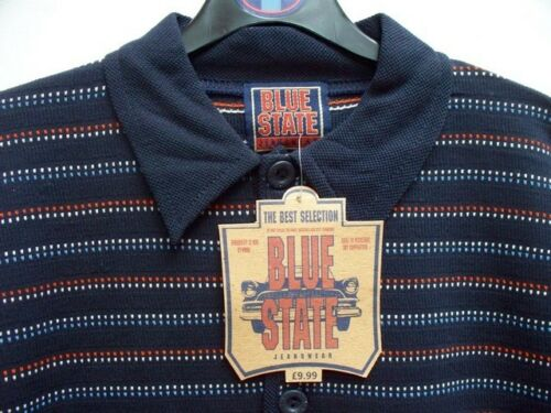 """Nouvelle qualité /""""Bleu ardoise/"""" Polo Shirt bleu marine de haute qualité âgés de 8-9 /& 12-13 ans"""