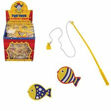 10 colourful fishing games, Ideal for Birthday Party loot bag toys