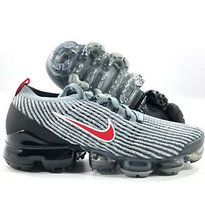 Nike-Air-Vapormax-Flyknit-3-Particle-Grey-Red-Black-White-AJ6900-012-Men-039-s-8