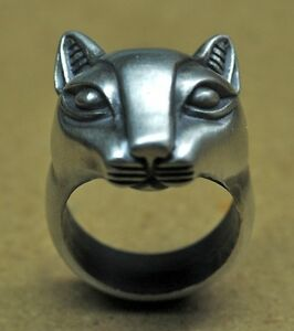 Sterling-silver-Egyptian-Cat-Ring