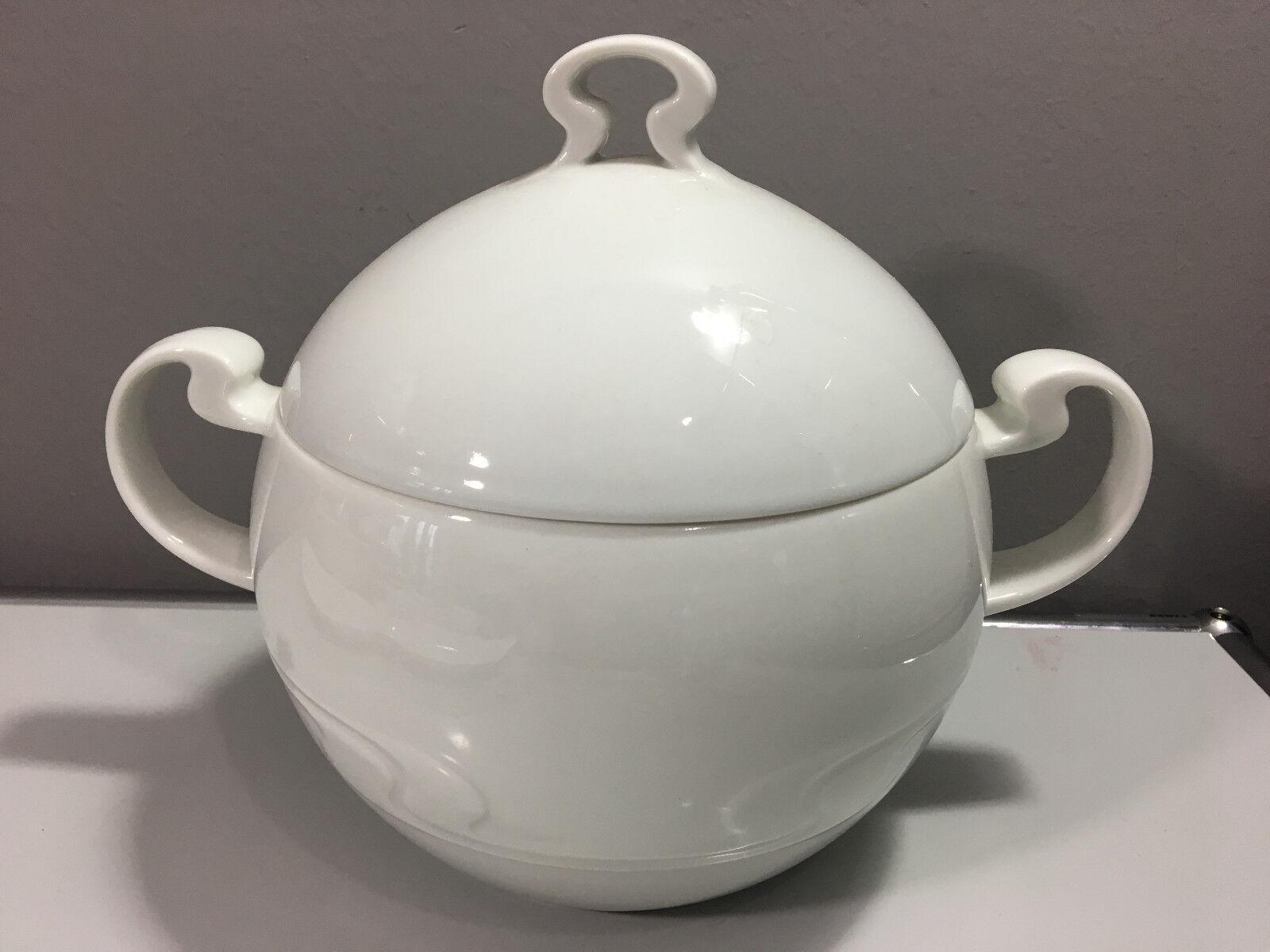 Rosenthal Asimmetria Blanc Bol & Couvercle terrine ragout