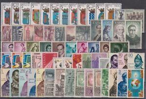 ANO-1965-NUEVO-COMPLETO-SIN-FIJASELLOS-EDIFIL-1631-1695-ESPANA