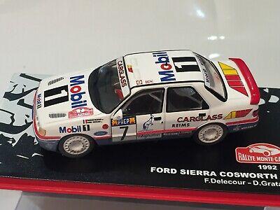 Ford Sierra Cosworth 4X4 Q8 #12 Rally Montecarlo 1991 F.Delecour 1:43 RALTWJP042