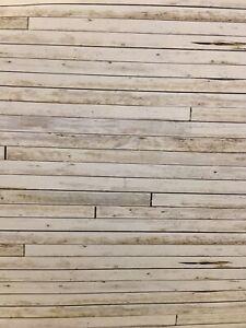 # 4 SHEETS MATT VINYL LANDSCAPE SELFADHESIVE WOOD PLANK FLOOR 1//12   a4
