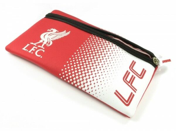 Liverpool FC Red White Fade Design Pencil Case Football Club Liver Bird Official