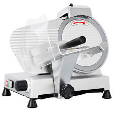 Commercial Electric Meat Slicer 10 Blade 240w 530 Rpm Deli Food Cutter