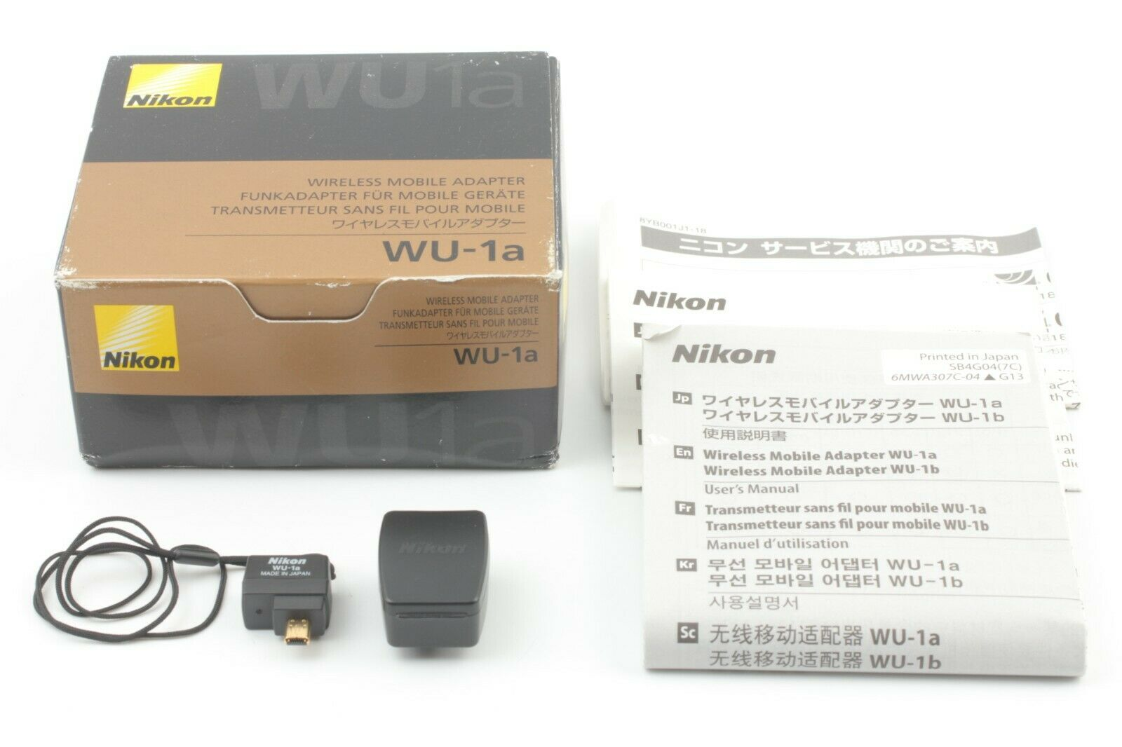 [UNUSED] Nikon WU-1a Wireless Mobile Adapter from Japan #572
