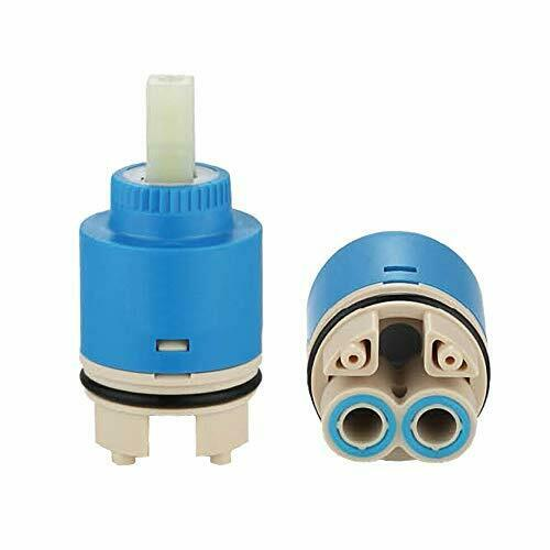 Ownace 35mm Ceramic Disc Plastic Bathroom Basin Shower Lever Mixer Tap Inner