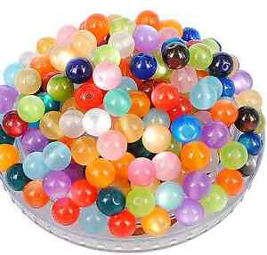 wholesale mix colour rosin cat's eye charms spacer beads 6mm---12mm