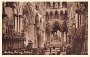 R279402 Salisbury Cathedral. The Choir. Photo Precision. St. Albans