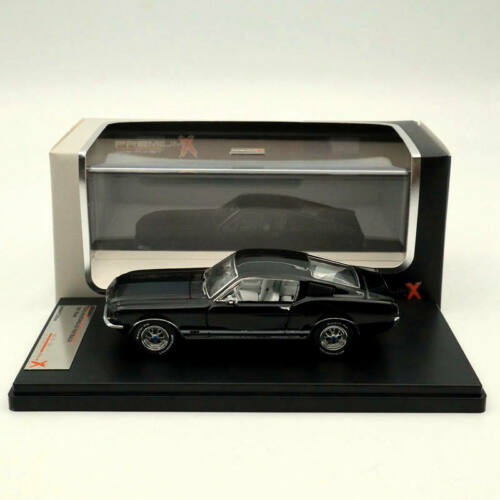 Premium X 1//43 FORD MUSTANG GT FASTBACK 1967 Black PRD366J Limited Edition
