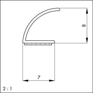 silikon fensterdichtung t rdichtung selbstklebend 25m sv v form wei dichtung ebay. Black Bedroom Furniture Sets. Home Design Ideas