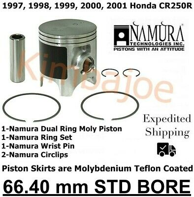 Bearing /& Gasket Kit 1997-2001 Honda CR250R Standard Bore 66.40mm Size B Piston