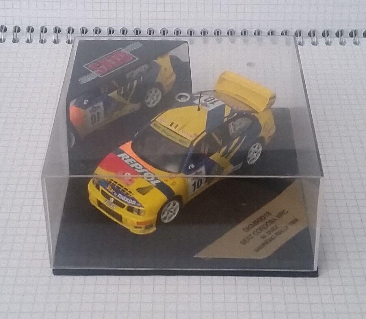 Skid SKM99018 Seat Cordoba WRC Sanremo Rally 1998 Marc Duez 1:43 Mint in Box