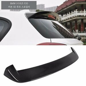 carbon fiber 3d rear roof wing spoiler for bmw 1 series. Black Bedroom Furniture Sets. Home Design Ideas