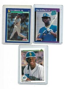 ken-griffey-jr-set-of-3-cards-rookie-1988-33-upper-deck-1990-156-score-91-2
