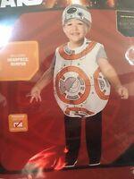 Disney Star Wars Bb-8 Costume Halloween Dress Up Toddler Child Size 2t-3t