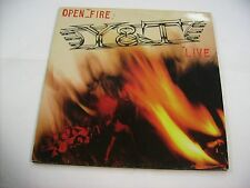 Y&T - OPEN FIRE LIVE - LP VINYL EXCELLENT CONDITION 1985