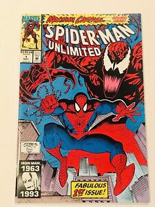 SPIDER-MAN-UNLIMITED-1-MAXIMUM-CARNAGE-1-MARVEL-VF-NM-1993