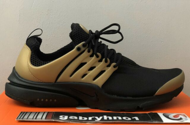 "Nike Air Presto Essential ""Metallic Gold"" 848187 007 Men's Size 11 Running Shoes"