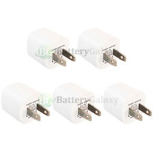 5 USB Travel Battery Wall Charger Mini for Apple iPhone / Android Cell Phone