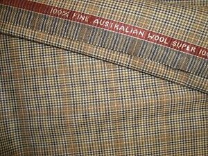 4-38-yd-Crossville-WOOL-FABRIC-Australian-Super-100s-8-5-oz-Suiting-156-034-BTP