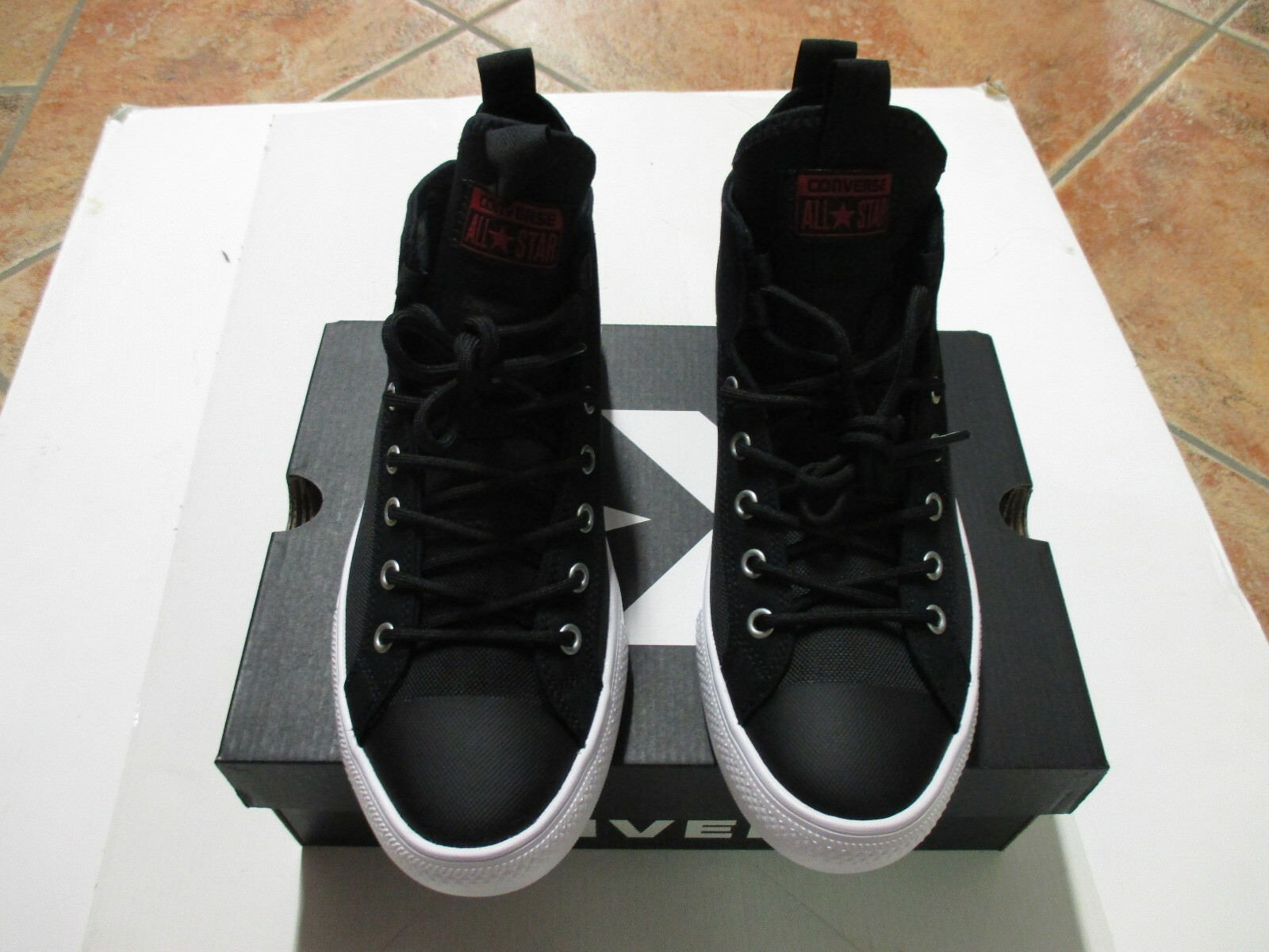 Converse Chuck Taylor All Star Ultra MID Gr 40 Black Red White 159630C Sneaker