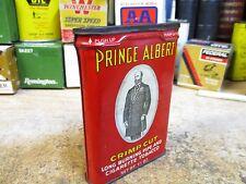 PRINCE ALBERT SMOKING TOBACCO UPRIGHT VERTICAL POCKET TIN CAN R J REYNOLDS