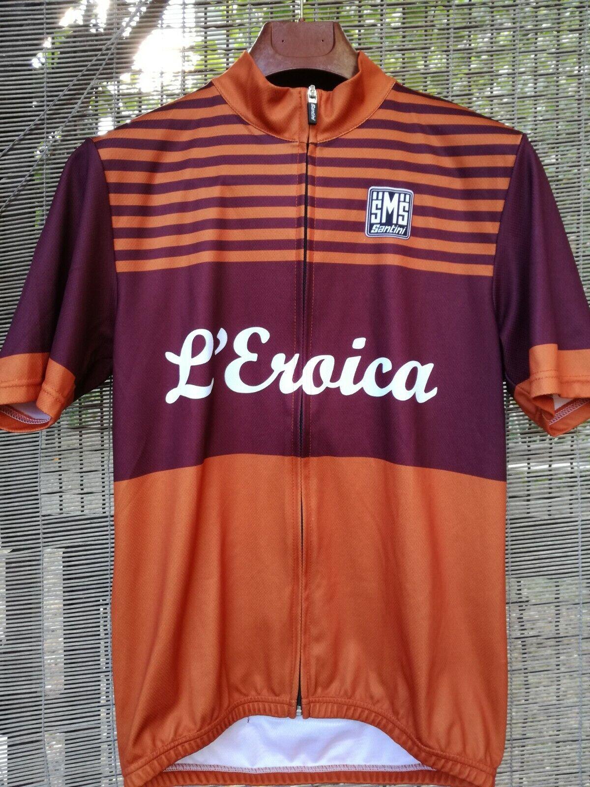 Maglia Ciclismo EROICA taglia M tricot jersey
